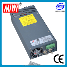 SCN-600-27 miwi 600w 27v 22a Switching Power Supply ac/dc power supply