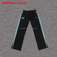 Latest design oem women custom fleece jogging pants