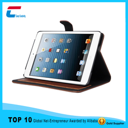 New Slim Utra thin PU leather case for iPad case Stand for iPad mini 1/2/3/4