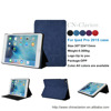 Leather Case For iPad Pro, PU Leather Case Flip Stand Smart Case For iPad Pro 12.9'', Dark Blue