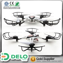 hot !!alloy 2.4g 6-axis UFO drone Rolling Stunt rc quadcopter camera kit with gyro and light best game for kids DE0198006 white