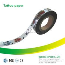 factory price BOPP/BOPP adhesive tattoo transfer paper