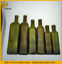 Hot sale 250ml 500ml 750ml 1000ml glass olive oil bottle manufacturer