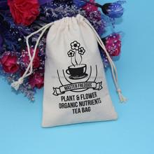 fashion 100 cotton gift bag with drawstrings, cotton bags with drawstring, recyclable shopping bags