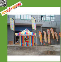 Wholesales low price teardrop banner / bow flying flag