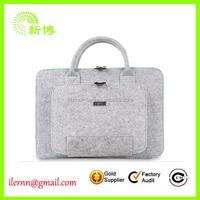 ladies fancy bags wool felt non woven woman hand bag