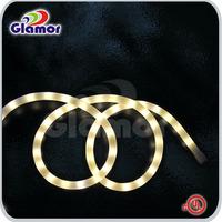 ul tuv list led rope light / car led rope light/universal lighting and decor