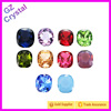 Wholesale machine cut bead stone jewelry square shaped crystal stone for dresses