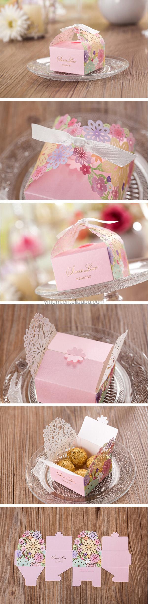 Wholesale Laser Cut Luxury Wedding Invitation Box For Chocolate ...