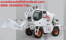Totalmente automático auto carregamento planta de mistura de concreto usado para a indústria de construção