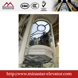capsule lifts|scenic spot glass lift|commercial building panoramic elevators