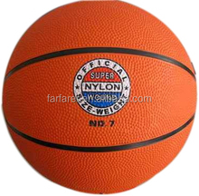 7# Official Size Basket ball/ Rubber basket ball