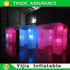 8 lights 8ft inflatable cube tent photo booth for wedding