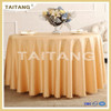 High grade nice fabric hotel wedding round sequin tablecloths elegant tablecloths