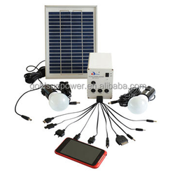 high quailty mobile home solar system/ mini solar panel kits for home grid system with good price