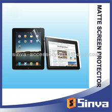 Mobile phone accessories for Anti Glare Screen Protector For ipad3