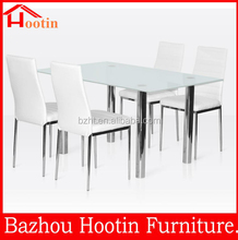 2014 high quality modern heavy-duty dining table and chairs for sale