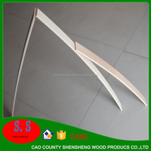 Alibaba China supplier hot bend curved 8.5-19mm clear/ultra clear/grey/green tempered Plywood for building