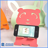 Multi color bear shaped DIY wood mobile stand