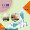 Waterproof adhesive anti-mildew acetic silicone