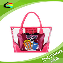 Shopping bag manufacturer Heavy Duty 40s pvc tote bags cheap