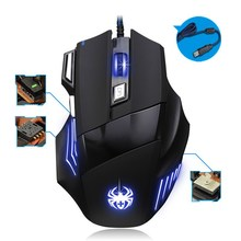 High Quality and cheap High Speed Fashion Cool USB Optical Wired Gaming Game Mouse Mice