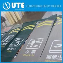 best quality warranty sticker ground stickers fadeless basic vinyl reverse sticker printing