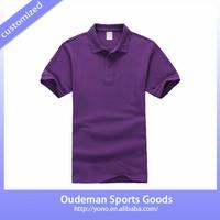 2015 High Quality Cotton Custom Plain Short-Sleeve Men's Tshirt