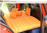 PVC flocking inflatable car mattress,wholesale inflatable car mattress