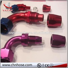 for U.S. market AN Teflon hose ends Aluminium Fitting