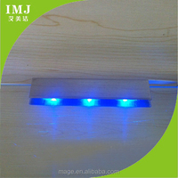 Hot high color rendering index led mini blue strobe light