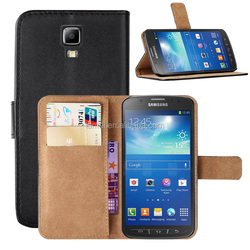 PU Wallet Case With Stand For Samsung Galaxy S4 Active