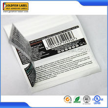 Fast delivery custom strong adhesive avery paper labels sticker