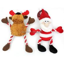2 Assorted pet Rope/Plush Xmas Dog Toys