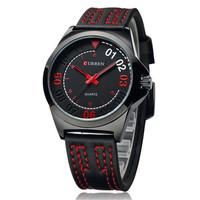 CURREN fashion waterproof quartz watches bezel japan movt, fashion watches men