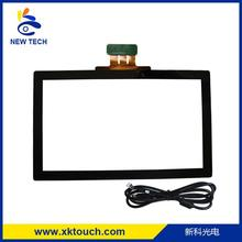 "21.5"" usb capacitive touch screen panel with USB controller"