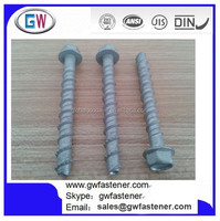 8 x 75mm Masonry Self Tapping Concrete Anchor Bolts
