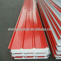 Low Cost Mobile Home/Insulated Roof Panel Factory