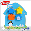 2015 new products low price penguins wooden intelligence box educational toys