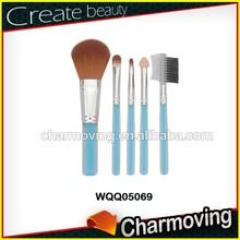 Charmoving Customized Logo 5pcs Makeup Set With Acrylic Handle
