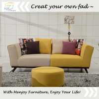 Latest design sofa modern sofa three seater sofa WQ8831