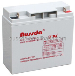 Aussda Long life use competitive price gel cell car battery 12V 60AH