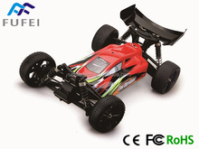 RC brushless buggy of 1/10 size, with the new verison of 5 in 1 ESC, makes the amazing buggy and perfect hobby experience