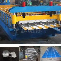 automatic metal sheet rolling machine