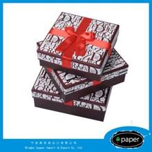 cosmetic craft box wedding favor box in china mdf cufflinks &jewels box