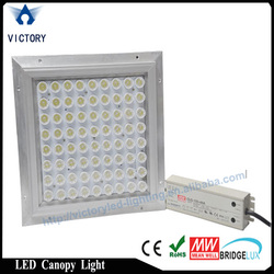 led project replacement canopy light 70W-150w meanwell driver gas station light CE ROHS certificate