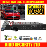 4 Channel 120fps at 1080P Real-Time HD-SDI H.264 Standalone DVR, US Ship