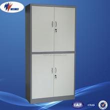 China Factory Metal 4 Door Bedroom Clothes Steel Cupboard Design