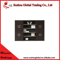 popular design simple high quality wooden bookcase