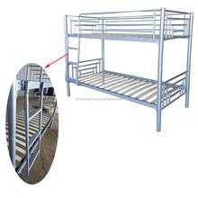 good looking steel bunk bed ,wood slat base bunk bed